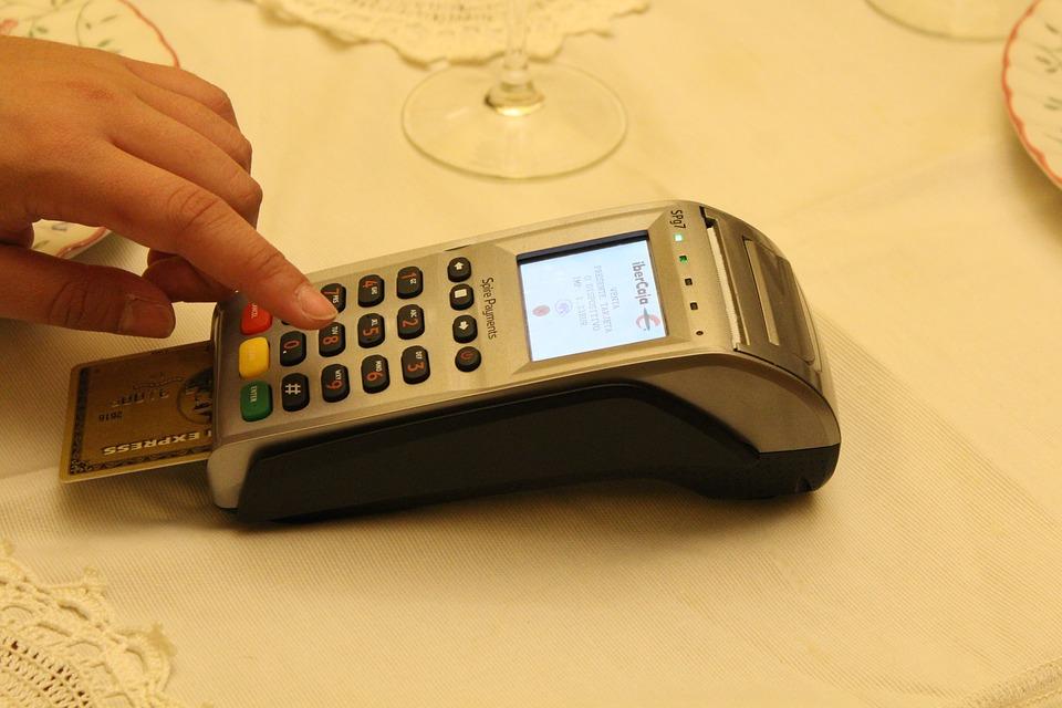 מכשיר סליקת אשראי, קורא כרטיסים, קורא כרטיסי אשראי